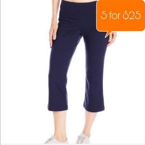 Lucy Power work out capri Athletic blue Pants